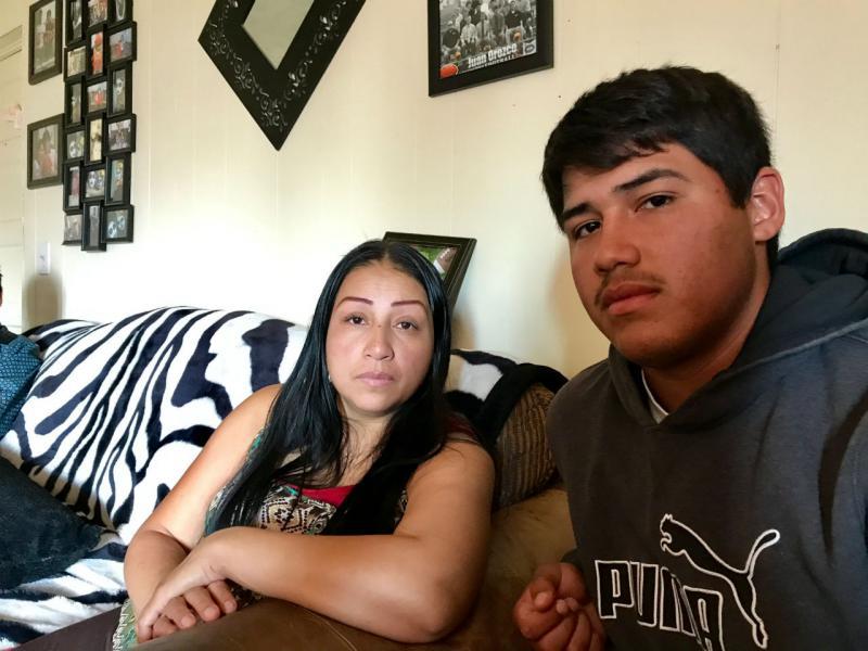 Juan Orozco-Ramirez' father, Audemio, was detained last August in Billings.