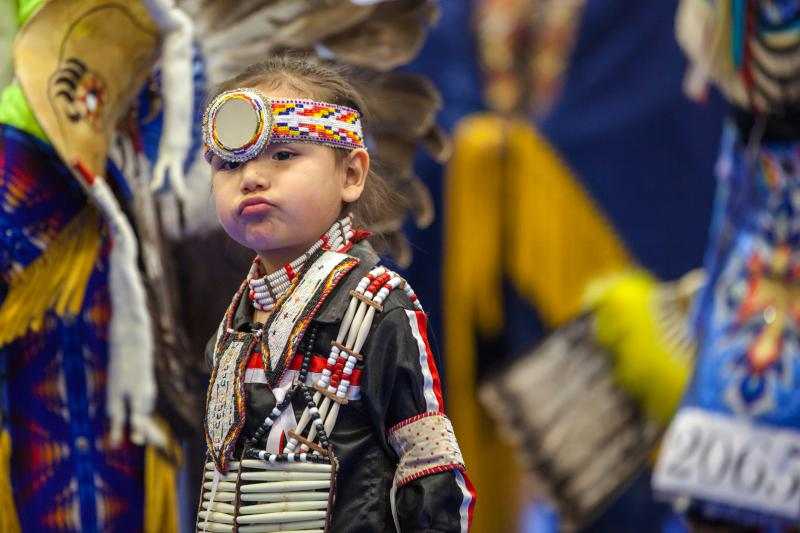 Hundreds of dancers from the U.S. and Canada come to campus of MSU Billings for the annual powwow.