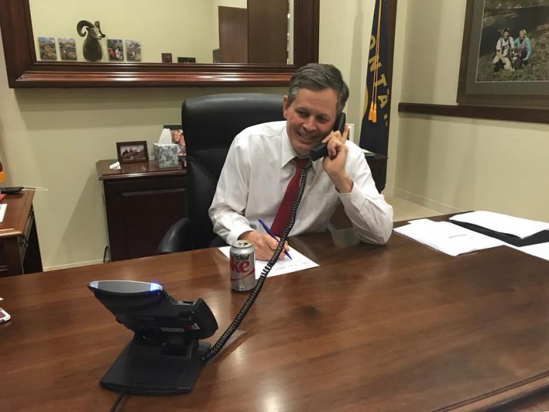 Senator Steve Daines hosting a tele-town hall on Tuesday, January 16th