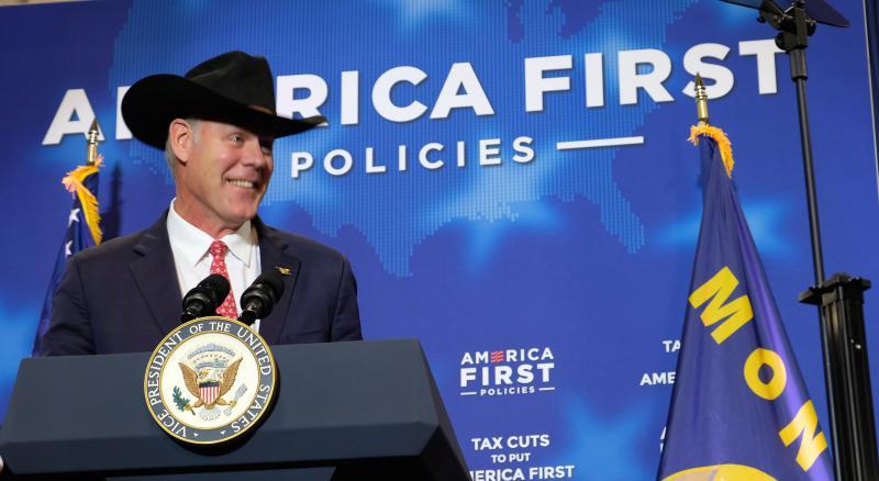 U.S. Interior Secretary and former Montana Congressman Ryan Zinke