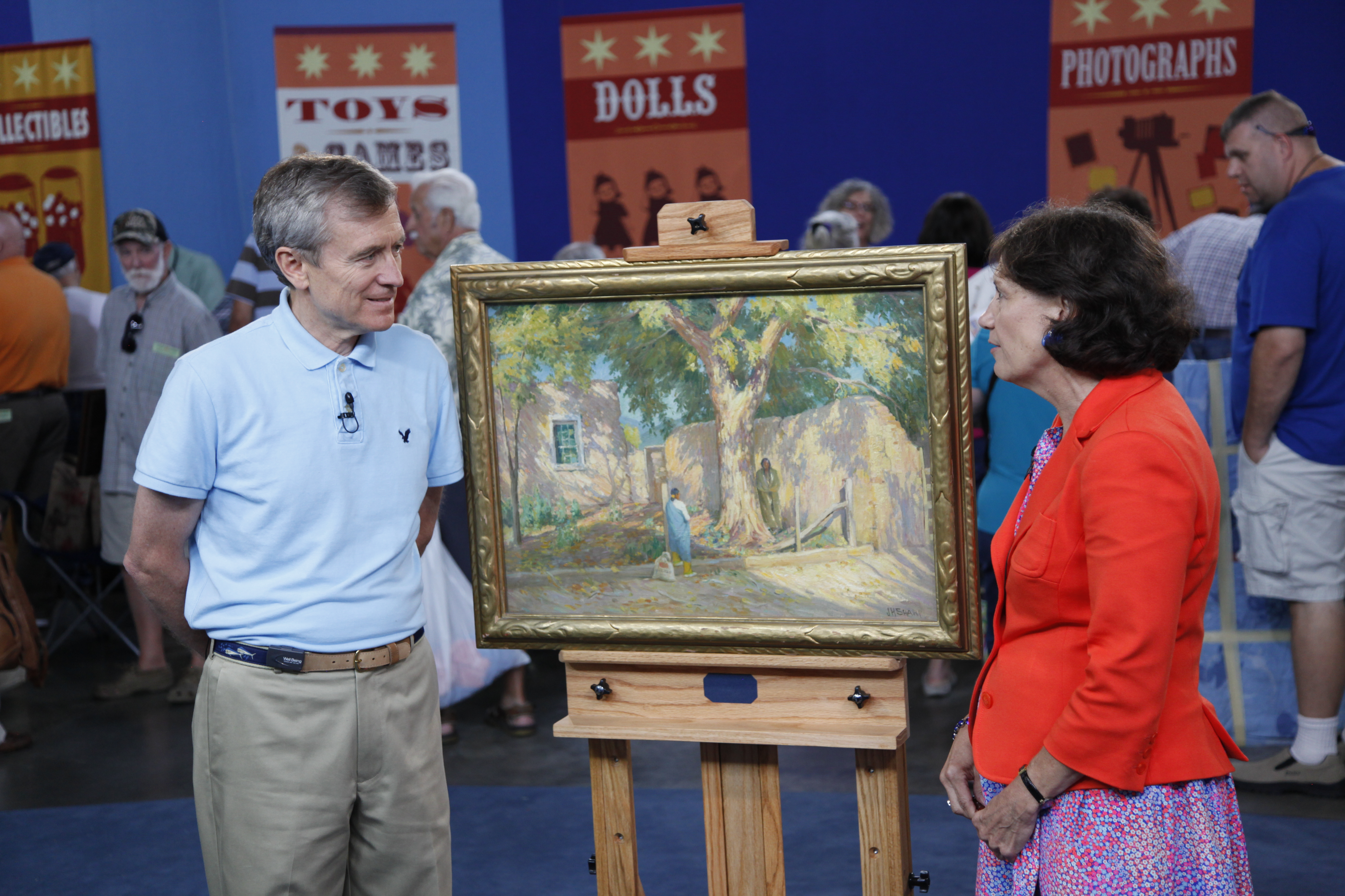 Find out about a 400 000 painting on antiques roadshow on - Vintage antiques roadshow ...