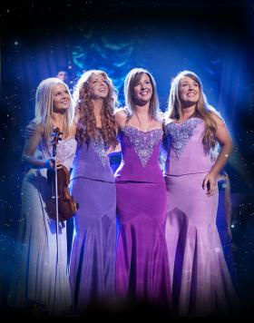 Celtic violinist Máiréad Nesbitt and vocalists Lisa Lambe, Lisa Kelly and Chloë Agnew perform classic Irish songs, timeless pop anthems and inspirational songs — all with the signature Celtic Woman twist.