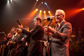 Comedian Steve Martin picks up his banjo and the Steep Canyon Rangers for new tunes in the old tradition