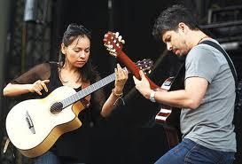 Famed Mexican guitar duo Rodrigo y Gabriela performs a unique fusion of flamenco, jazz and rock.
