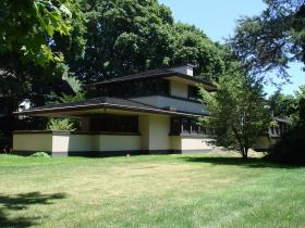 Follow the ambitious two-year process of restoring the Boynton House in Rochester, NY — one of the few Frank Lloyd Wright creations still functioning as a private, single-family residence— to its original splendor, following Wright's design concepts and architectural philosophy. Photo courtesy of WXXI.