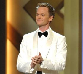 Actor Neil Patrick Harris emcees the opening celebration at The Smith Center for the Performing Arts in Las Vegas.