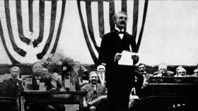 "The public television documentary SEEKING THE GREATEST GOOD chronicles the life and legacy of Gifford Pinchot (1865-1946), the first chief of the U.S. Forest Service and an early champion of ""practical conservation."" Pinchot (pictured) spoke to audiences across the country and used the media to spread the very new idea of conservation."