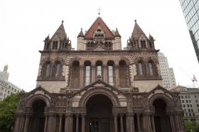 Created by architect H.H. Richardson, Trinity was the first example of the Richardsonian Romanesque style, which was later used in churches, city halls and county courthouses across America.
