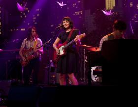 Norah Jones sings songs from her Dangermouse-produced album Little Broken Hearts.