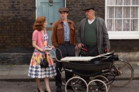 Shown (L-R): Leanne Rowe as Ruby, Jamie Thomas King as Douglas and Cliff Parisi as Fred