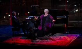 Opera star Stephanie Blythe has long been a champion of American song. Here she pays tribute to Kate Smith, a beloved singer whose stirring and resilient voice helped to comfort the nation during World War II. The program was taped during Lincoln Center's American Songbook series.