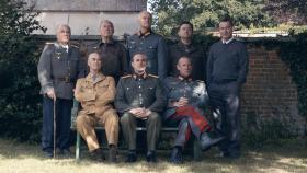Re-enactment. Our Generals Cast.