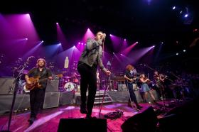 Alternative rock superstars Arcade Fire perform hits and tunes from their Grammy-winning LP The Suburbs.