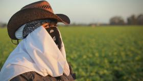 Maricruz Ladino (pictured), whose story is featured, is one of many women who say they have been sexually assaulted while working in America's fields, farms and factories.