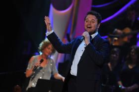 Grammy-winning tenor David Phelps performs in concert.