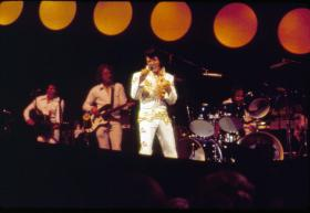 Elvis Presley made television history in 1973 with a live concert special, televised globally via satellite. Now, 40 years later, don't miss one of the most outstanding concert performances of his career.