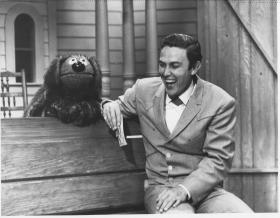 The first television appearance by Jim Henson's piano-playing Muppet, Rowlf the Dog, was on Jimmy Dean's variety show.