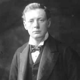 CHURCHILL explores many of the myths that surround the legendary figure, revealing the complexity of the real man who was a soldier, adventurer, politician, author and arguably the greatest Englishman of the 20th century. Shown: Winston Churchill, Conservative MP for Oldham, December 1901.