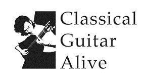 Classical Guitar Alive Logo