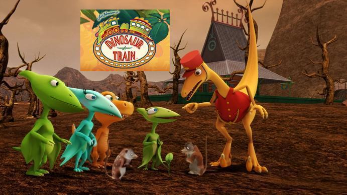 dinosaur train on kenw