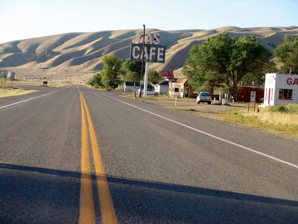 Sometimes the Lincoln Highway itself is just a beautiful site as it stretches out toward the horizon, all along its coast-to-coast route. It doesn't matter if you're in Utah (or anywhere on the route) when you take A RIDE ALONG THE LINCOLN HIGHWAY.