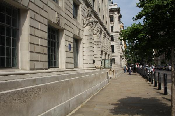 Original Site of Scotland Yard
