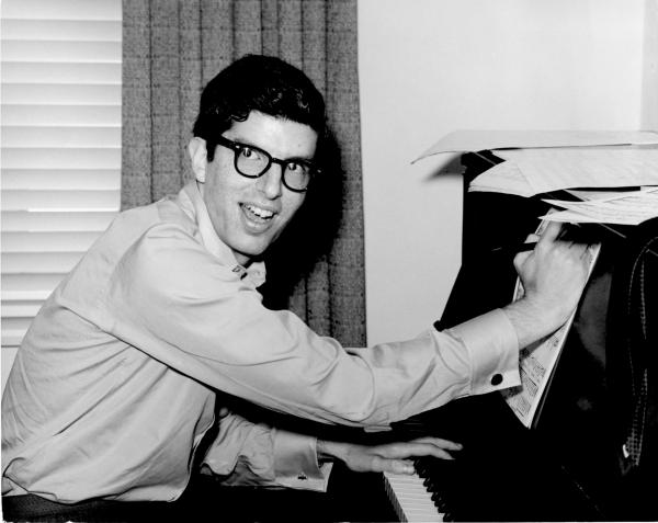 Marvin Hamlisch, a prolific and accomplished composer at age 17.