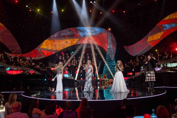 Internationally renowned for alluring stage productions and songs of heartwarming inspiration, Celtic Woman present their new chapter of musical enchantment, CELTIC WOMAN: HOME FOR CHRISTMAS. Pictured (l-r): Susan McFadden, Méav Ni Mhaolchatha, Lisa Lambe and Anthony Byrne.