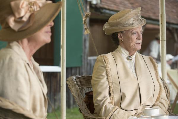 Shown: Maggie Smith as Violet, Dowager Countess
