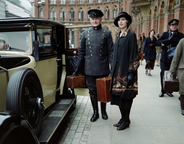 Shown: Laura Carmichael as Lady Edith