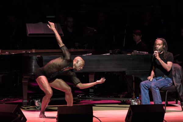 Dancer Desmond Richardson with vocalist Bobby McFerrin