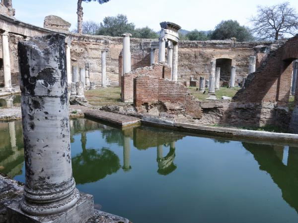 Hadrian's Villa, Rome, Italy