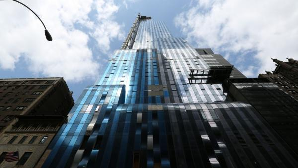 "One57 in New York City. SUPER SKYSCRAPERS ""The Billionaire's Building"""