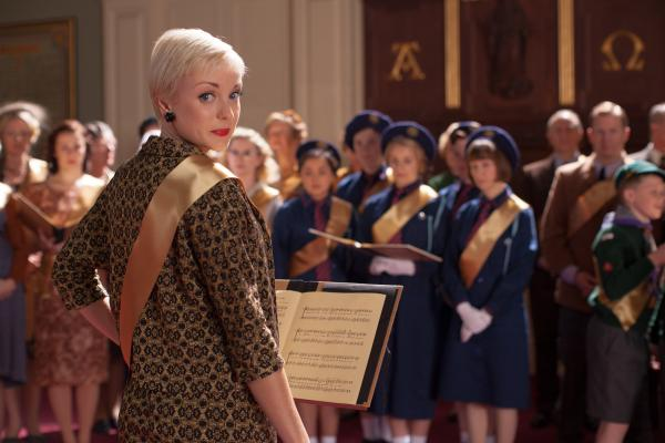 Shown: Helen George as Trixie Franklin