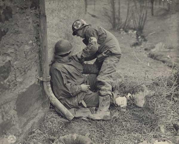 "In the early hours of D-Day, two young American medics with the 101st Airborne ""Screaming Eagles"" parachuted into France, and soon found themselves trapped in a 12th-century Norman church in the small village of Angoville-au-Plain. Medics Robert Wright and Kenneth Moore provided first aid to the first casualties of D-Day while a savage battle raged outside between American and German forces."