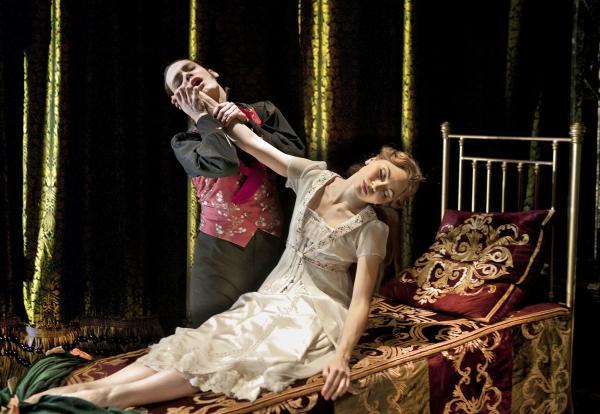 Left to right: Caradoc and Princess Aurora (Ben Bunce & Hannah Vassallo).