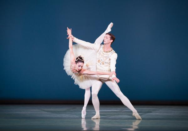 Pennsylvania Ballet Principal Dancers Julie Diana and Zachary Hench in George Balanchine's Diamonds from Jewels