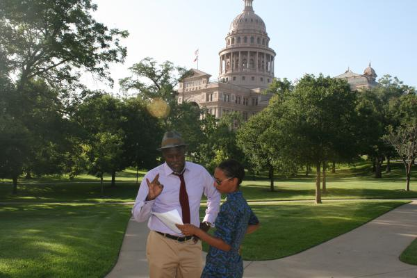 Detectives Tukufu Zuberi and Kaiama Glover on location in Austin, Texas. Can they solve the case of the Servant Girl Murders?