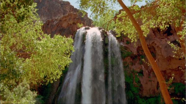 This cinematic journey through the breathtaking scenery of the American West's iconic red rock country includes Havasu Falls.