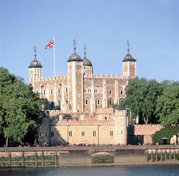White Tower from Across the River