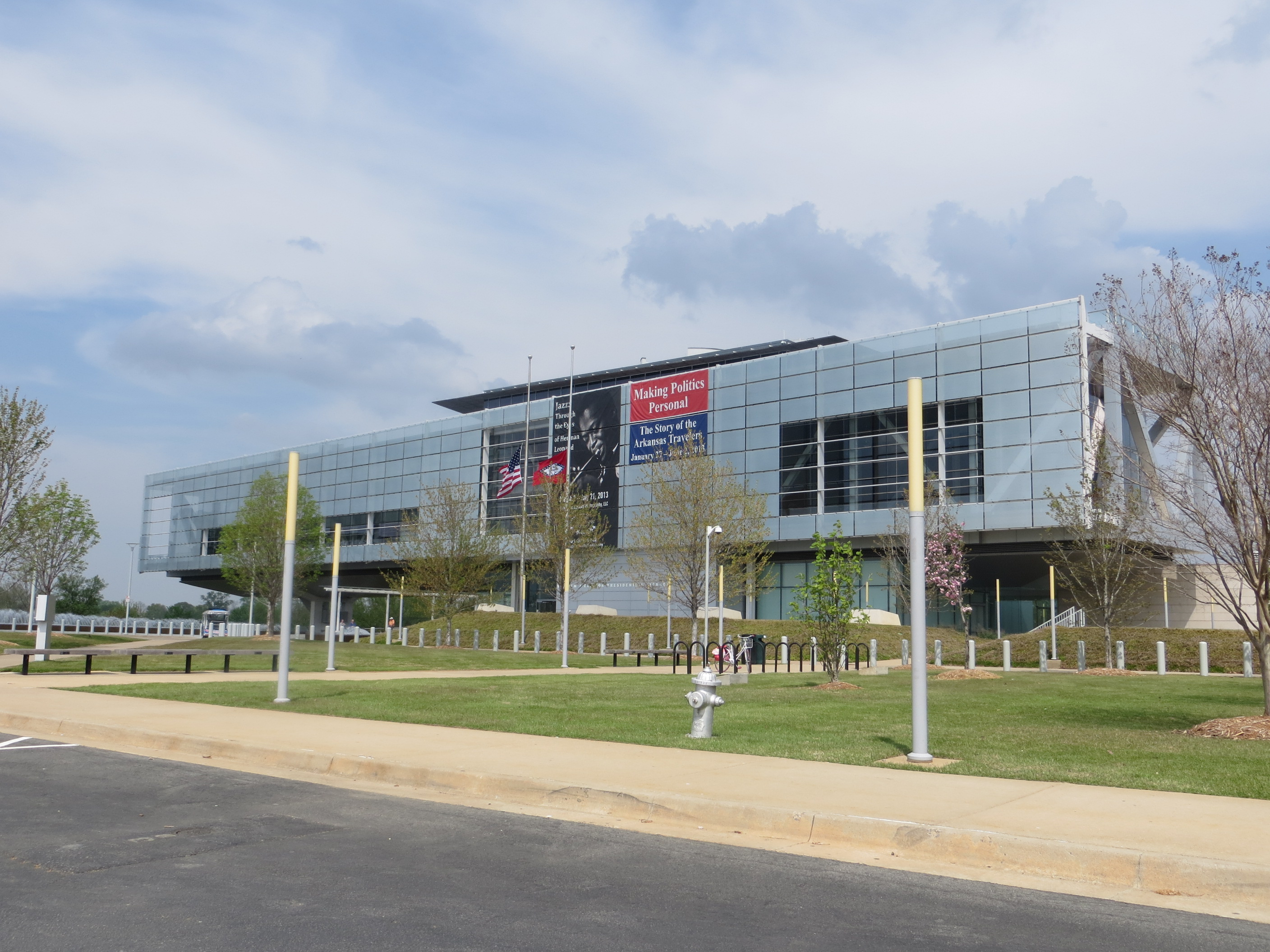 The Clinton Library Changed Little Rock Will The Bush