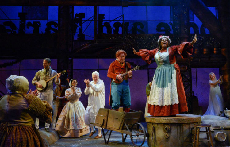 Review: Dallas Theater Center Presents New Version Of A Christmas ...
