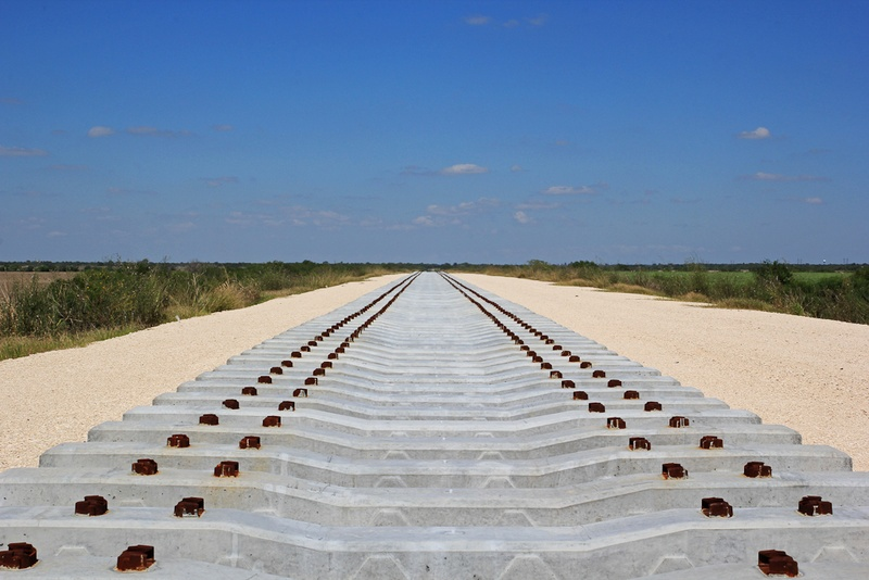 Officials discussing texas mexico high speed rail line