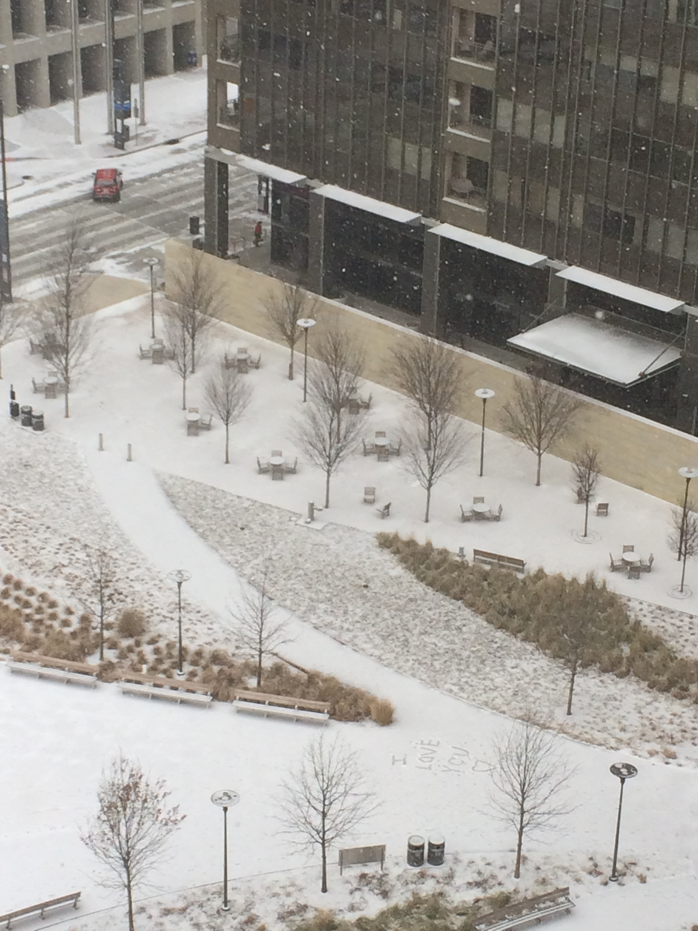Snow blog recap relive two days of wild winter weather for How far is waco texas from austin texas