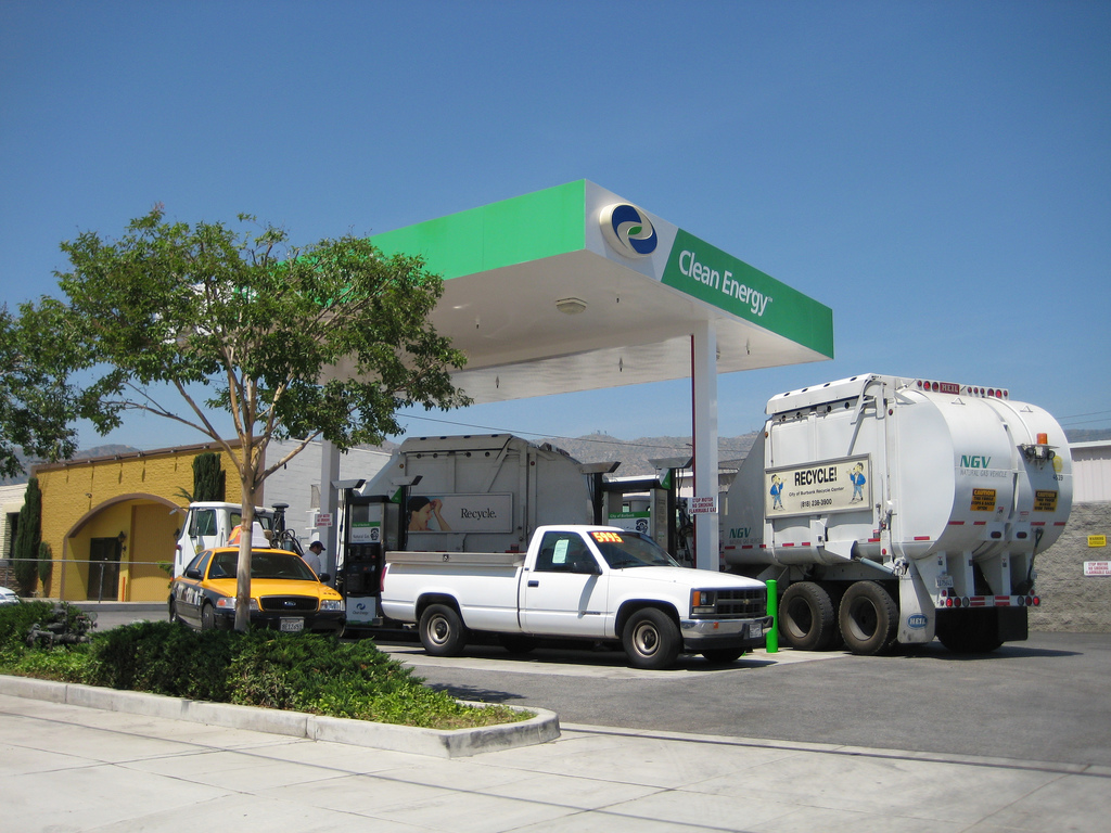 Compressed Natural Gas Fueling Stations Map