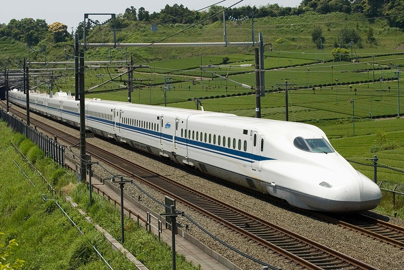 bullet trains Fifty years ago on wednesday two shinkansen bullet trains completed their first journeys, kickstarting a high-speed rail network that would transform japan.