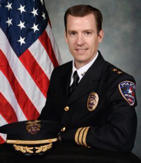 Arlington's new police chief, Will Johnson. Chief Johnson will be the 15th police chief appointed since 1915.