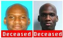 The FBI posted these photos of suspected gunman Aaron Alexis after his death Tuesday.