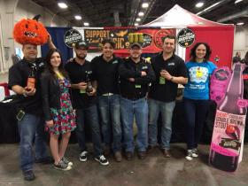 Deep Ellum Brewing workers were at the Big Texas Beer Fest.