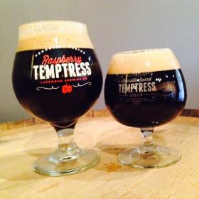 Tempting -- and tasty: Presenting the Temptress from Lakewood Brewing.